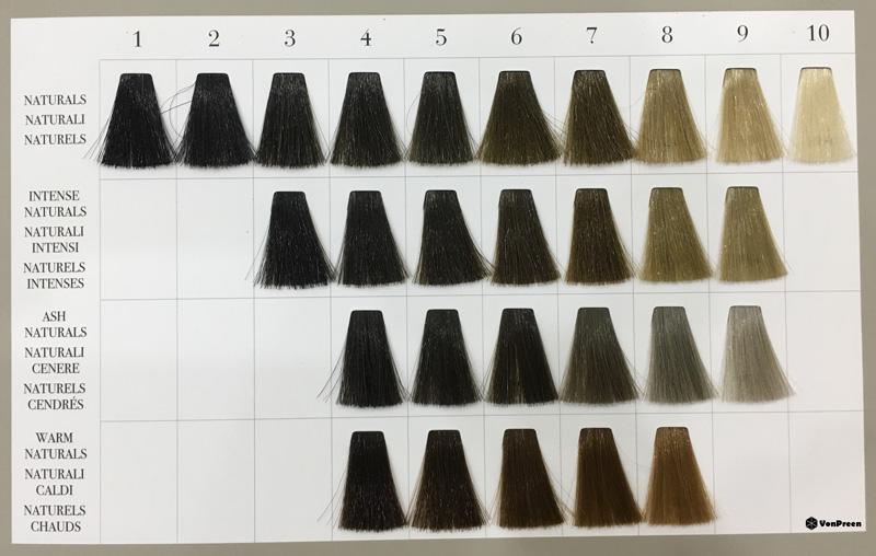 Bảng màu thuốc nhuộm tóc Davines mới nhất