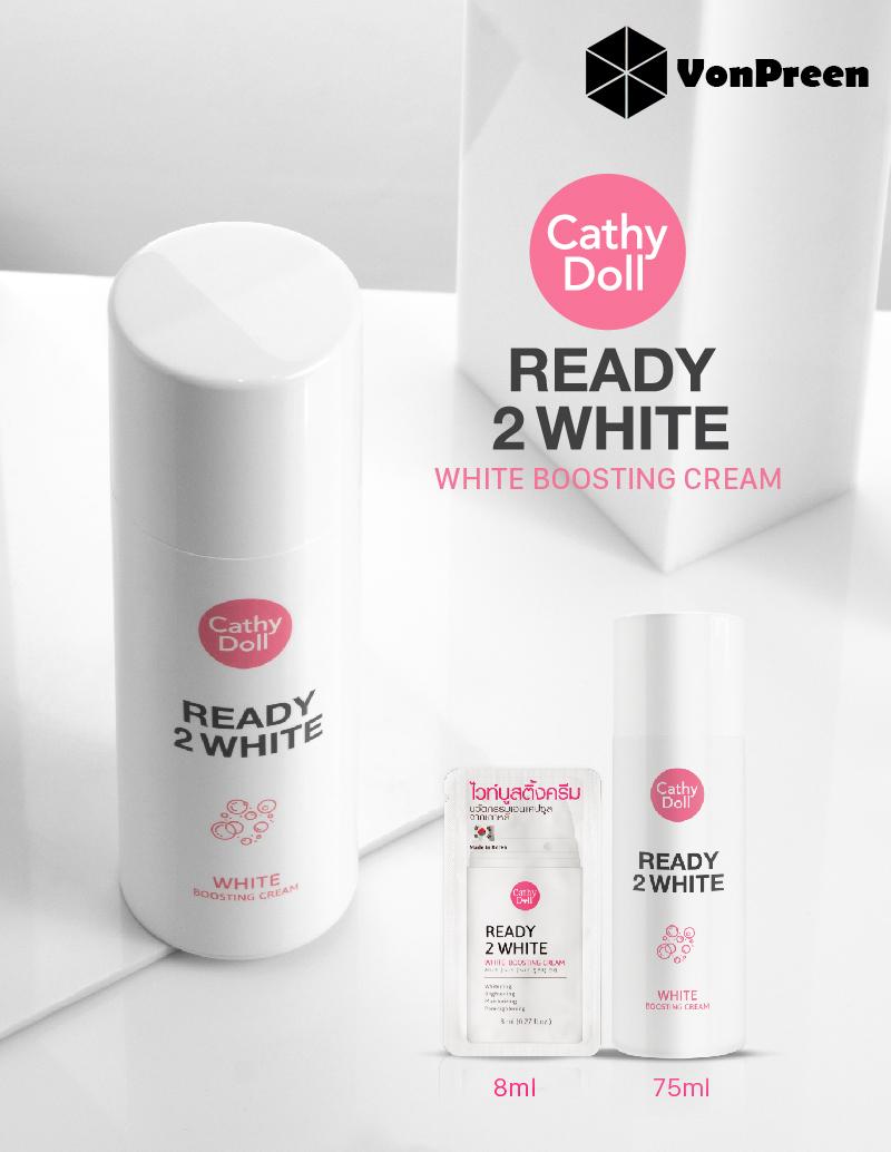 Dưỡng da mặt Ready 2 White Boosting Cream 75ml