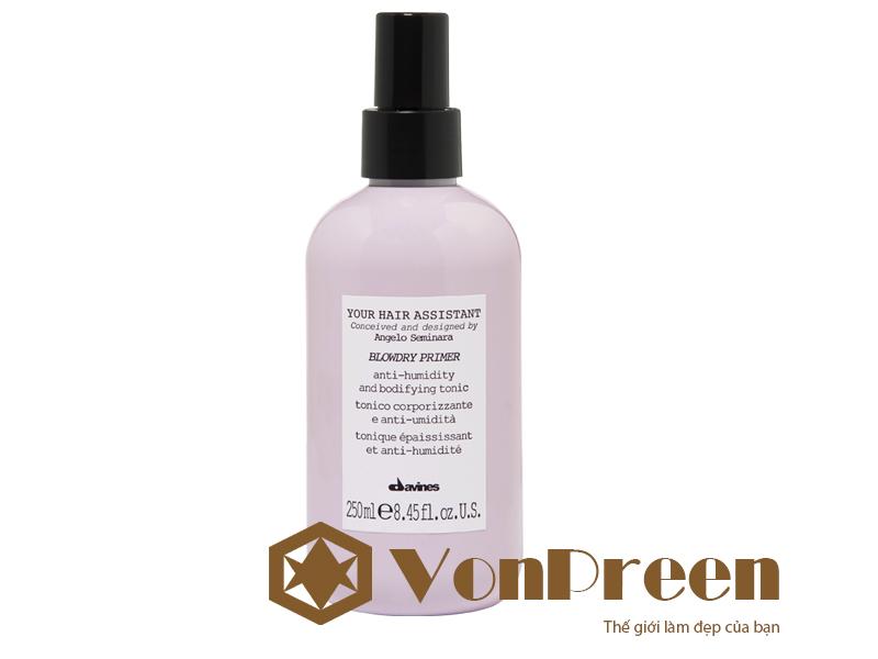 Davines Blow dry primer xịt dưỡng tóc