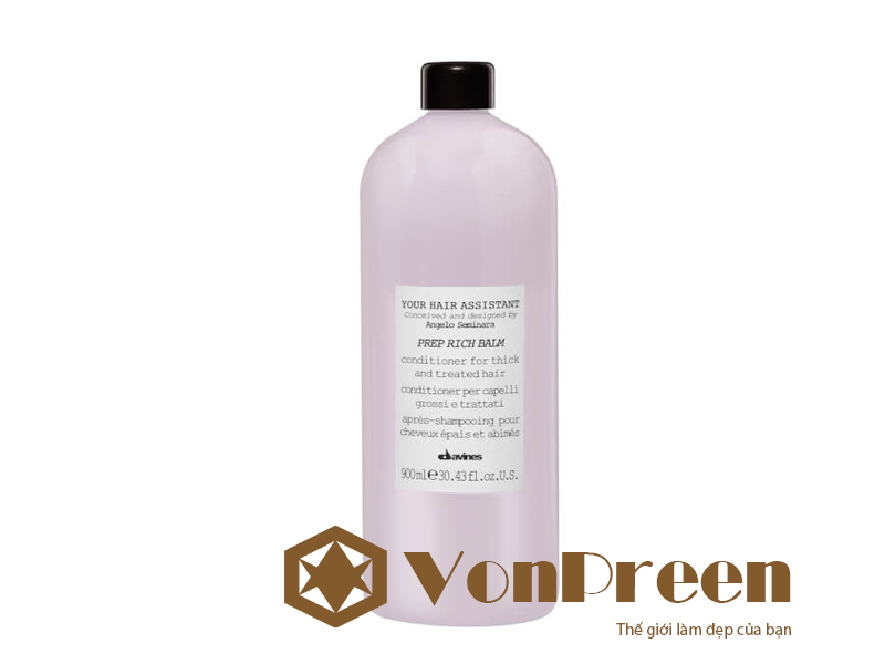 Davines Your Hair Assistant Prep Rich Balm dầu xả
