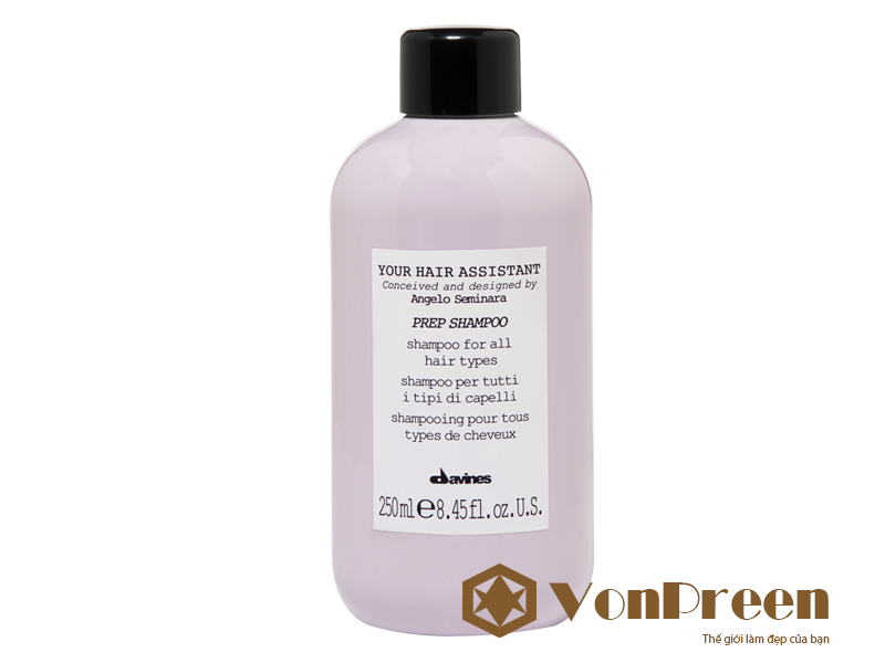Dầu gội Davines Prep Shampoo 250ml