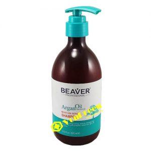 Dầu gội đầu Beaver, Argan Oil, tinh dầu tự nhiên dưỡng ẩm cho da đầu