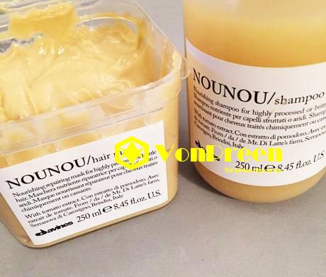 Dầu gội Davines Nounou Shampoo 1000ml, dành cho Nam và Nữ
