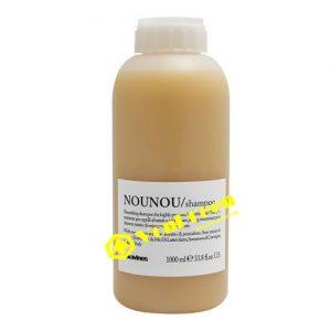 Dầu gội Davines Nounou, Shampoo 1000ml, dành cho tóc khô xơ, hư tổn