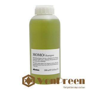 Dầu gội Momo Davines, Shampoo 1000ml làm sạch dưỡng ẩm sâu cho mái tóc