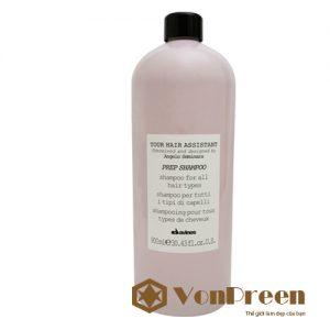 Davines Prep Shampoo Dầu gội