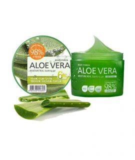 Gel dưỡng thể Welcos Aloe Vera Moisture Real Soothing Gel - 300g