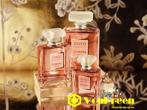 Nước hoa Coco màu hồng chính hãng
