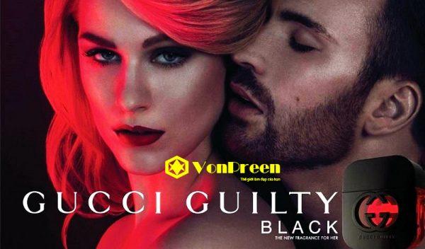 Nước hoa Gucci Guilty Black Eau De Toilette, dành cho Nữ cao cấp