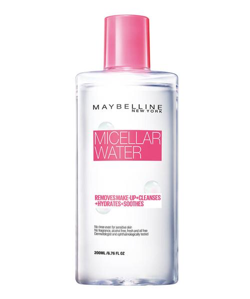 Nước tẩy trang mặt 3 trong 1 Maybelline Micellar Water