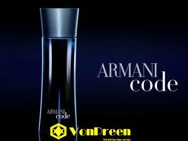 Armani Code cho nam