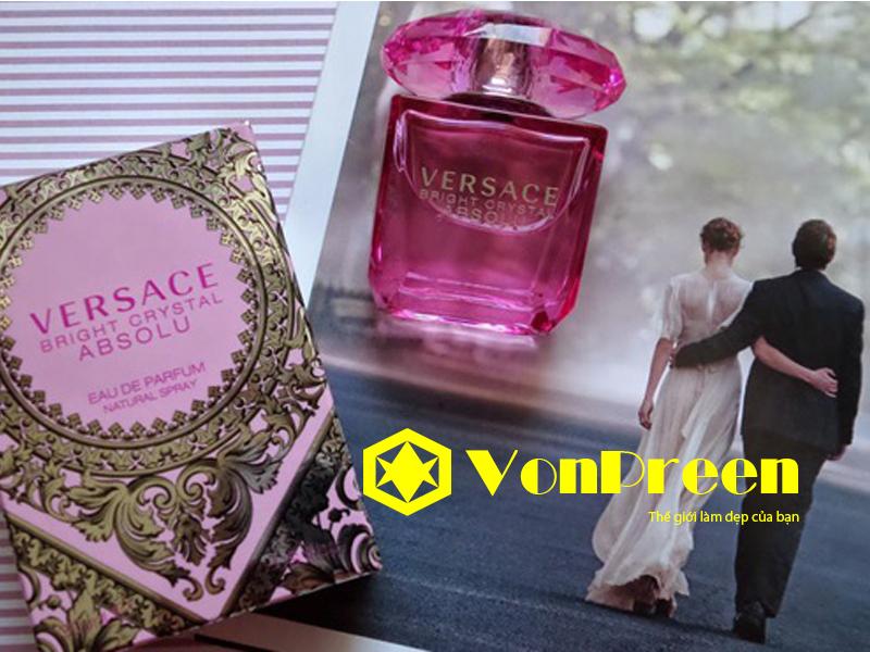 Giá nước hoa Versace Bright Crystal Absolu 90ml