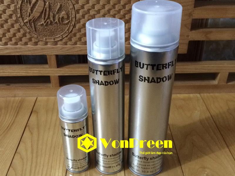 Keo xịt tóc Butterfly shadow