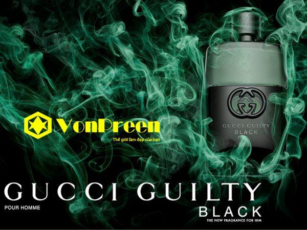 Mùi nước hoa Gucci Guilty Black