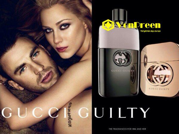 Nước hoa Gucci Guilty cho nam