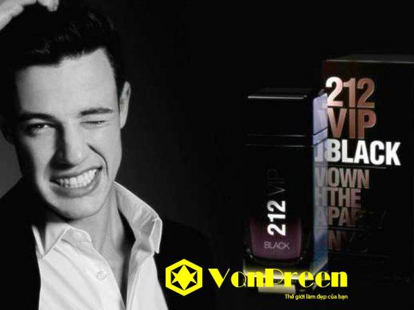 Nước hoa nam 212 Vip Black giá bao nhiêu