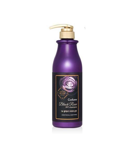 dau goi hoa hong đen Confume Black Rose Shampoo 750ml