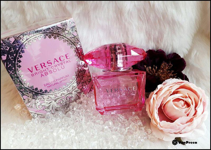 Nước hoa nữ Versace Bright Cryatal absolu 90ml chính hãng giá rẻ