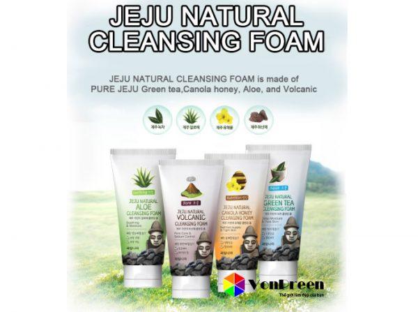 Sữa rửa mặt Jeju Hàn Quốc, dành cho cả Nam và Nữ hiệu quả