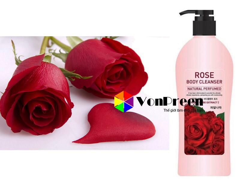 Sữa tắm hoa hồng Hàn Quốc, chính hãng giá rẻ nhất