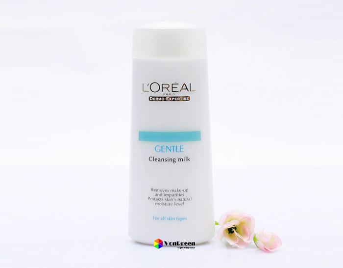 Cách sử dụng sữa tẩy trang L'Oreal, giúp làn da sạch và tươi mát, bảo vệ độ ẩm tự nhiên