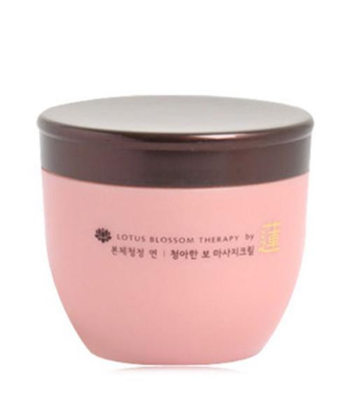 Kem dưỡng da hoa sen Pure Massage Cream 300g