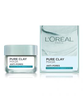 Mặt nạ đất sét L'Oreal Pure Clay Mask Anti-Pores 50ml