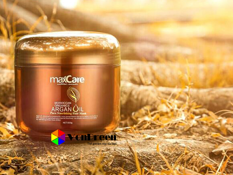 Mặt nạ dưỡng tóc Maxcare Argan Oil Pure Nourishing 500ml