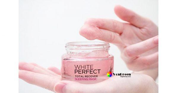 Mặt nạ ngủ L'oreal White Perfect review, đánh giá về tinh năng sản phẩm