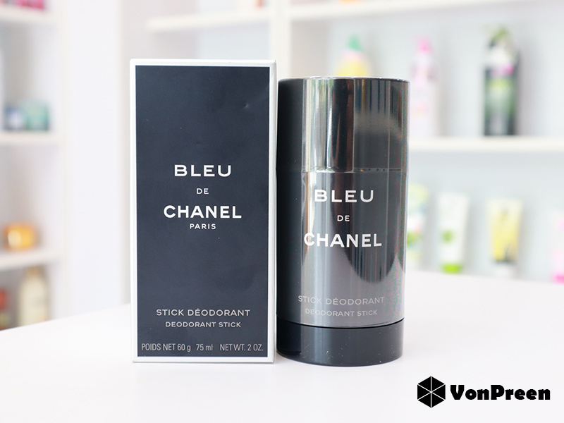 Lăn khử mùi Chanel Bleu De Deodorant Stick 75ml chính hãng
