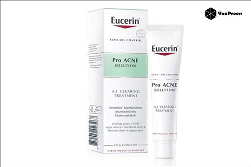 Gel trị mụn Eucerin Pro Acne AI Clearing Treatment chính hãng