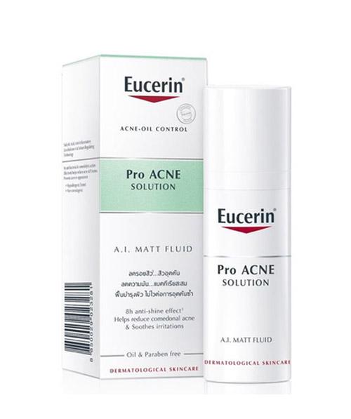 Kem dưỡng da Eucerin Pro Acne Ai Matt Fluid