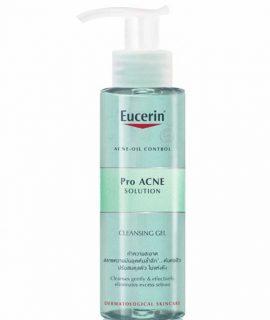 Gel rửa mặt Eucerin Proacne Cleasing Gel
