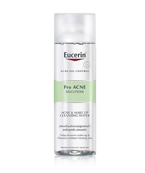 Nước tẩy trang Eucerin Proacne acne & Make Up Cleansing Water