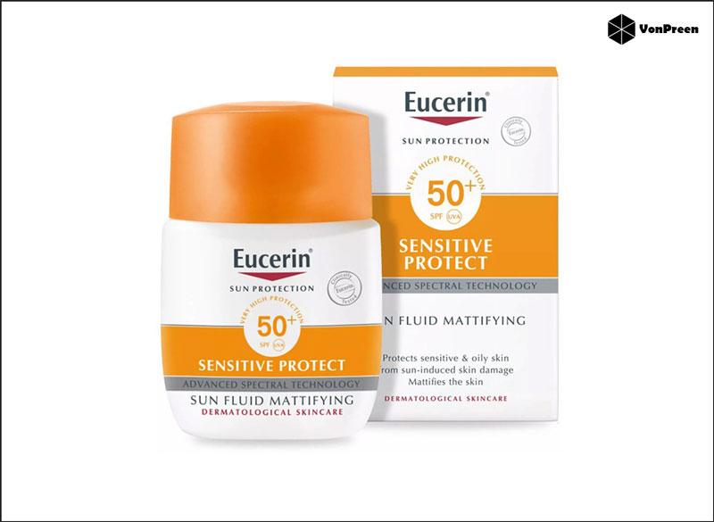 Kem chống nắng Eucerin Sun Fluid Mattifying SPF50 50ml chính hãng