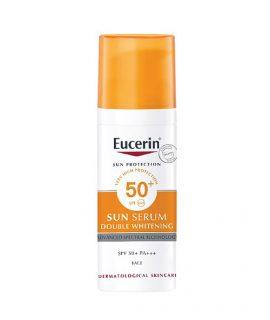Kem chống nắng Eucerin Sun Double Whitening Serum SPF50