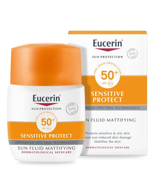 Kem chống nắng Eucerin Sun Fluid Mattifying SPF50 50ml