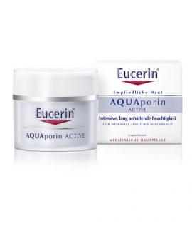 Kem dưỡng da mặt Eucerin Aqua Porin Active