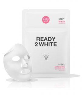 Mặt nạ và tẩy da chết 2 trong 1 Cathy Doll Ready 2 White