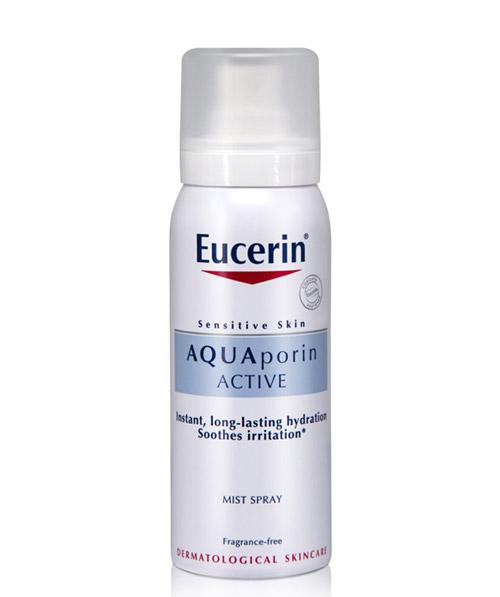 Xịt khoáng Eucerin Aqua Porin Active Mist Spray 50ml