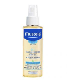 Dầu Massage Mustela Baby Oil - 100ml