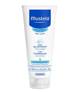 Gel tắm gội Mustela 2 in 1 Cleansing Gel - 200ml