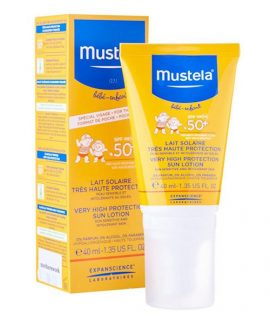 Kem chống nắng Mustela cho bé -40ml