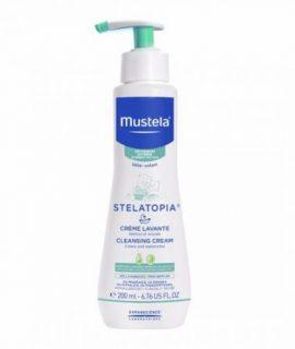Kem tắm Mustela Stelatopia Cleansing Cream - 200ml