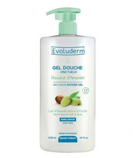 Sữa tắm Evoluderm Gel Doche Douceur Damande - 1000ml