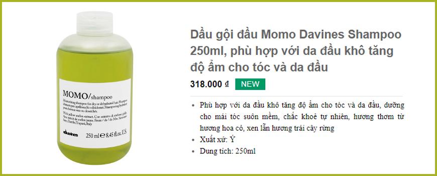 Dầu gội đầu Momo Davines Shampoo 250ml