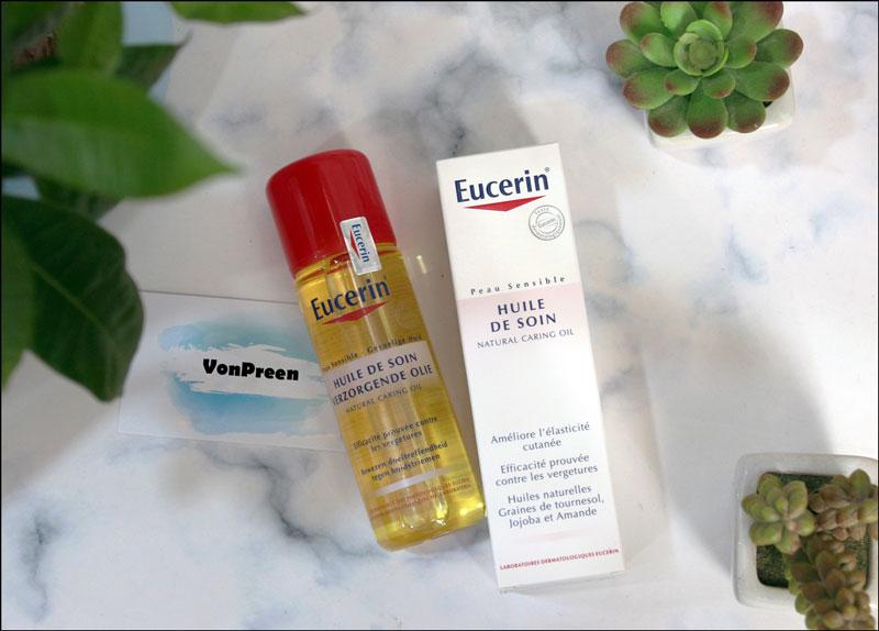 Dầu dưỡng da Eucerin Natural Caring Oil giảm rạn da mua ở đâu