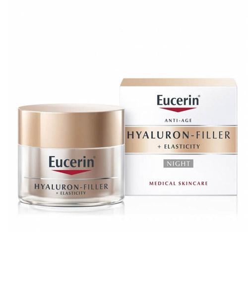 Kem dưỡng da ban đêm Eucerin Hyaluron Filler Elasticity Night Cream - 50ml