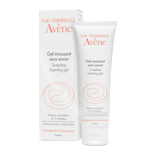 Gel rửa mặt Avène Soapless Foaming Gel - 125ml