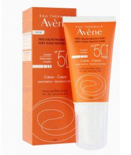Kem chống nắng Avène Protection 50+ Fragrance Free - 50ml